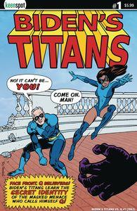 [Bidens Titans Vs Q (Cover D Ted Dawson) (Product Image)]