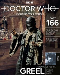 [Doctor Who Figure Collection #166: Magnus Greel (Product Image)]