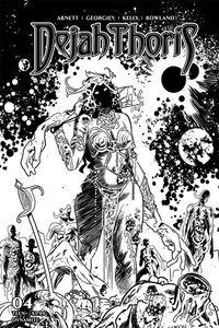 [Dejah Thoris: 2019 #4 (Gedeon Zombie Black & White Variant) (Product Image)]