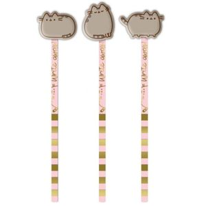 [Pusheen: Pencil With Eraser: Sweet & Simple (Product Image)]