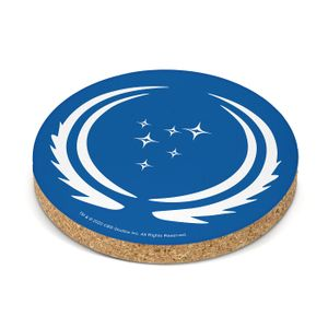 [Star Trek: Discovery: Coaster: 32nd Century Federation Logo (Product Image)]
