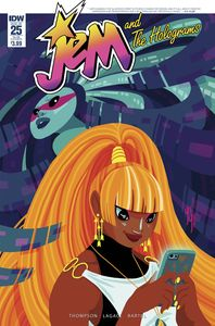 [Jem & The Holograms #25 (Subscription Variant) (Product Image)]