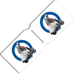 [Doctor Who: Travel Pass Holder: 10th Doctor & Rose Mod Moped (Product Image)]