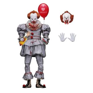 [IT (2017): Action Figure: I Heart Derry Edition Pennywise (Product Image)]