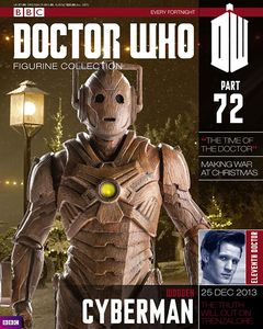 [Doctor Who: Figurine Collection Magazine #72 Wooden Cyberman (Product Image)]