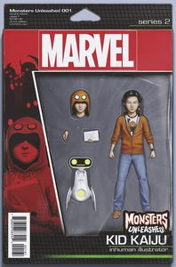 [Monsters Unleashed #1 (Christopher Action Figure Variant) (Product Image)]