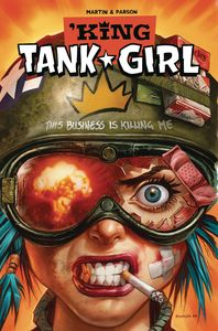[King Tank Girl #4 (Cover B Staples Cardstock) (Product Image)]