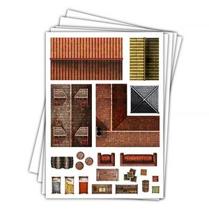 [Towns & Taverns: Add-On Scenery: Town Trimmings (Product Image)]