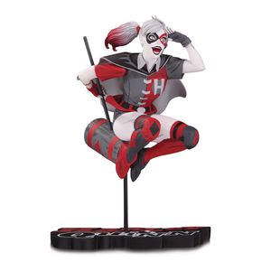 [DC: Harley Quinn: Statue: Red White & Black By Guillem March (Product Image)]