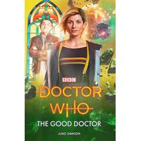 [Juno Dawson, Una McCormack and Steve Cole signing the brand new Thirteenth Doctor novels (Product Image)]
