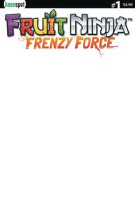 [Fruit Ninja: Frenzy Force #1 (Cover B Blank Sketch Cover Variant) (Product Image)]