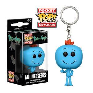 [Rick & Morty: Pocket Pop! Keychain: Mr. Meeseeks (Product Image)]