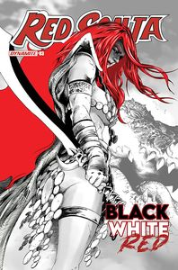 [Red Sonja: Black White Red #3 (Cover C Lau) (Product Image)]