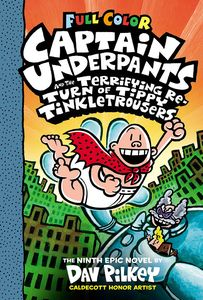 [Captain Underpants & The Terrifying Return If Tippy Tinkletrousers (Hardcover) (Product Image)]