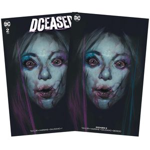 [DCeased #2 (Ben Oliver Forbidden Planet Variant Set) (Product Image)]
