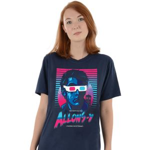 [Doctor Who: T-Shirt: 80's Allons-y! (Product Image)]