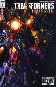 [Transformers: Unicron #1 (SDCC Exclusive Wraparound Variant) (Product Image)]