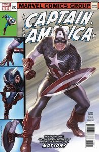 [Captain America #695 (2nd Printing - Alex Ross Lenticular Homage Variant) (Legacy) (Product Image)]