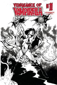 [Vengeance Of Vampirella #11 (Castro Black & White Variant) (Product Image)]