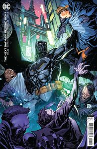 [Next Batman: Second Son #1 (Cover B Ken Lashley Card Stock Variant) (Product Image)]