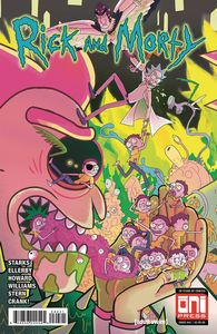 [Rick & Morty #44 (Cover B Scott Variant) (Product Image)]