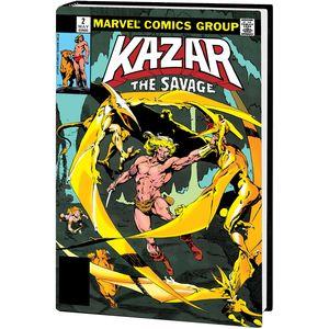 [Ka-Zar Savage: Omnibus (Anderson Action Dm Variant Hardcover) (Product Image)]