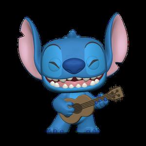 [Lilo & Stitch: Pop! Vinyl Figure: Stitch With Ukelele (Product Image)]