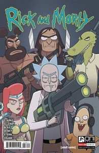[Rick & Morty #58 (Cover A Ellerby) (Product Image)]