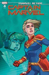 [Marvel Action: Captain Marvel #4 (Megan Levens Variant) (Product Image)]