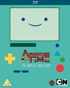 [Adventure Time: The Complete 3rd Season Blu-Ray (Product Image)]