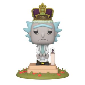[Rick & Morty: Electronic Pop! Vinyl Figure: King Of $#!+ (Product Image)]