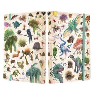 [The Dark Crystal: Bestiary Creatures Softcover Notebook (Product Image)]