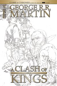 [George R.R. Martin's A Clash Of Kings #11 (Rubi Black & White Variant) (Product Image)]