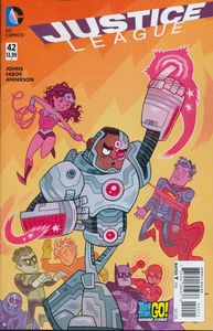 [Justice League #42 (Teen Titans Go Variant Edition) (Product Image)]