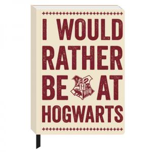 [Harry Potter: Notebook: Rather Be At Hogwarts (Product Image)]