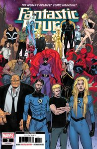 [Fantastic Four #2 (2nd Printing Pichelli Variant) (Product Image)]