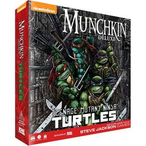 [Munchkin Deluxe: Teenage Mutant Ninja Turtles (Product Image)]