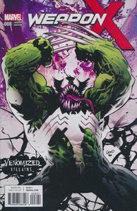 [Weapon X #8 (Venomized Weapon H Variant) (Product Image)]