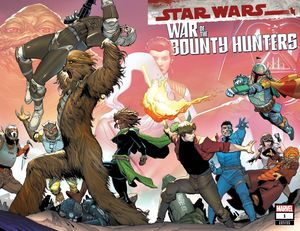 [Star Wars: War Of The Bounty Hunters #1 (Camuncoli Wrpad Variant) (Product Image)]