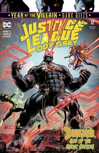 [Justice League: Odyssey #12 (YOTV Dark Gifts) (Product Image)]