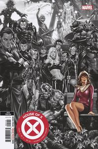 [House Of X #1 (5th Printing Brooks Variant) (Product Image)]