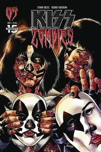 [Kiss: Zombies #5 (Cover C Buchemi) (Product Image)]