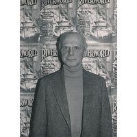 [Philip Jose Farmer signing The Magic Labyrinth (Product Image)]
