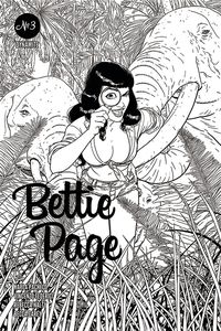 [Bettie Page #3 (Kano Black & White Variant) (Product Image)]