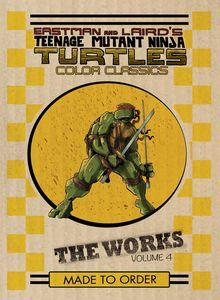 [Teenage Mutant Ninja Turtles: The Works: Volume 4 (Hardcover) (Product Image)]