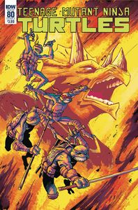 [Teenage Mutant Ninja Turtles: Ongoing #80 (Cover A Couceiro) (Product Image)]