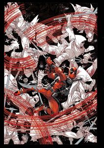 [Deadpool: Black, White & Blood (Treasury Edition) (Product Image)]