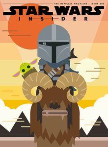 [Star Wars Insider #205 (Mandalorian Cover) (Product Image)]