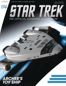 [Star Trek Starships #174: Archer Toy Ship (Product Image)]
