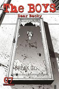 [The Boys: Dear Becky #7 (Robertson Premium Bonus Variant) (Product Image)]